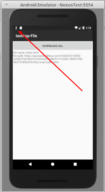 Selection 155 - How to download a file stored in Backendless with your Android app