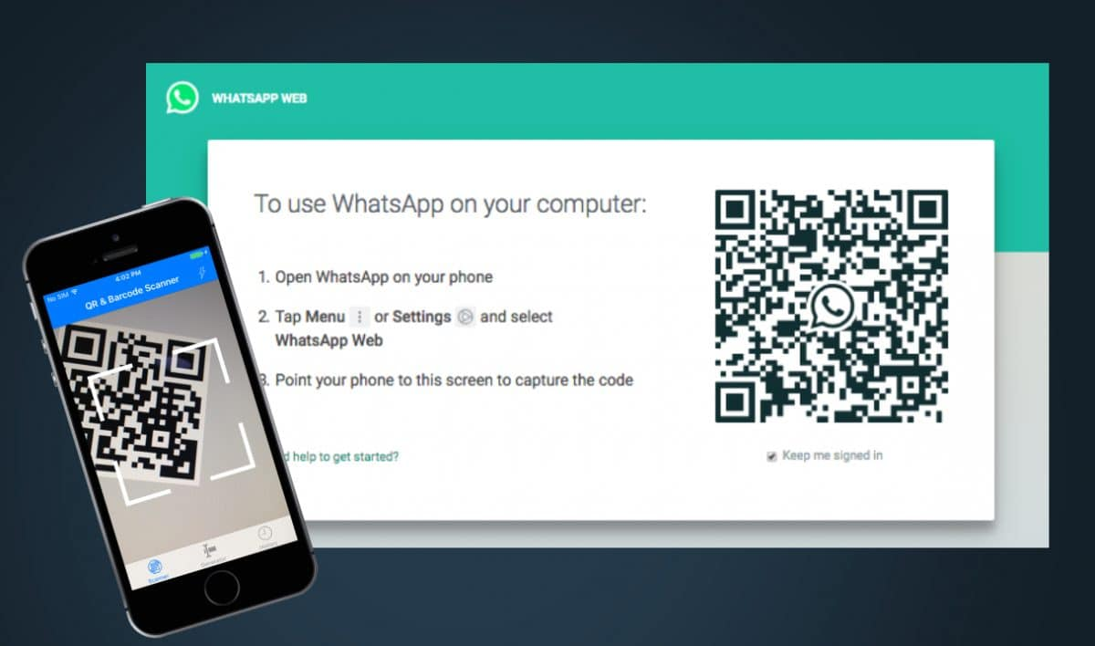 login with qr1 - How to implement mobile-to-web cross login using a QR code