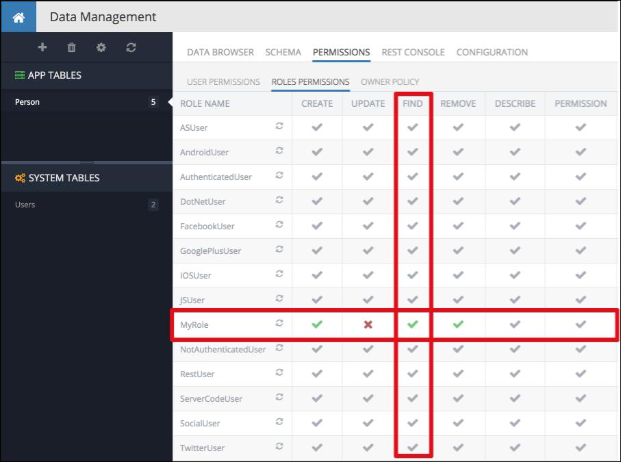 Backendless rest api documentation custom user roles for tablezoom80 urtaz Images