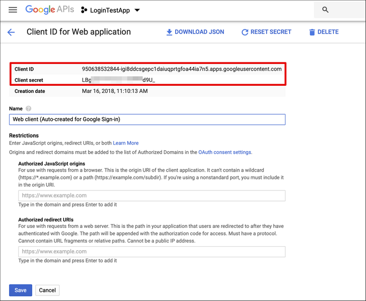 Login with Google - Backendless SDK for Android/Java API