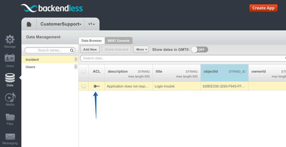 object acl icon - Feature 87: Manage data object's access control list (ACL) in console