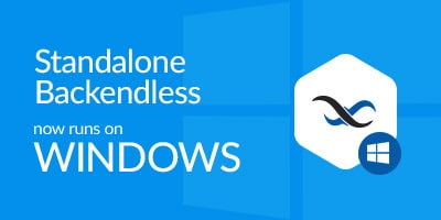 BLOG Windows - Standalone Backendless for Windows