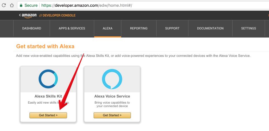 alexa skills kit - Developing a custom Alexa skill to control an IoT device