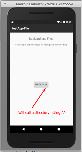 mainActivity - How to download a file stored in Backendless with your Android app