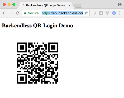 qr web app - How to implement mobile-to-web cross login using a QR code