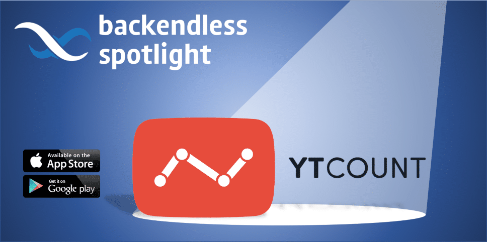 Backendless Spotlight YTCount App