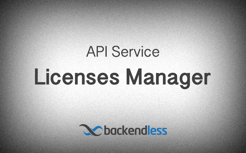API Service Simple Licenses Manager