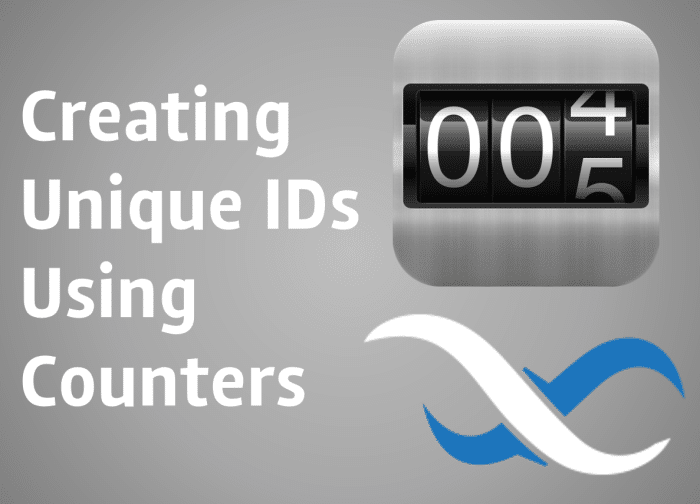 Creating unique IDs using Backendless counters
