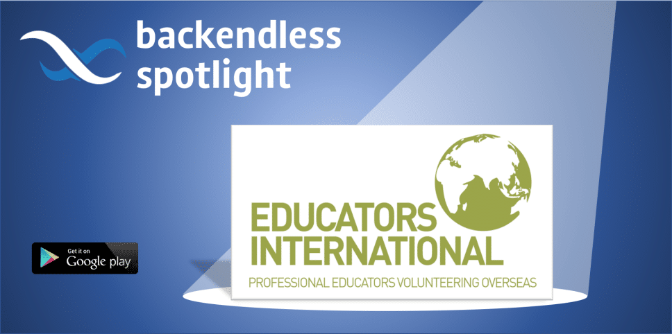 Backendless Spotlight Educators International