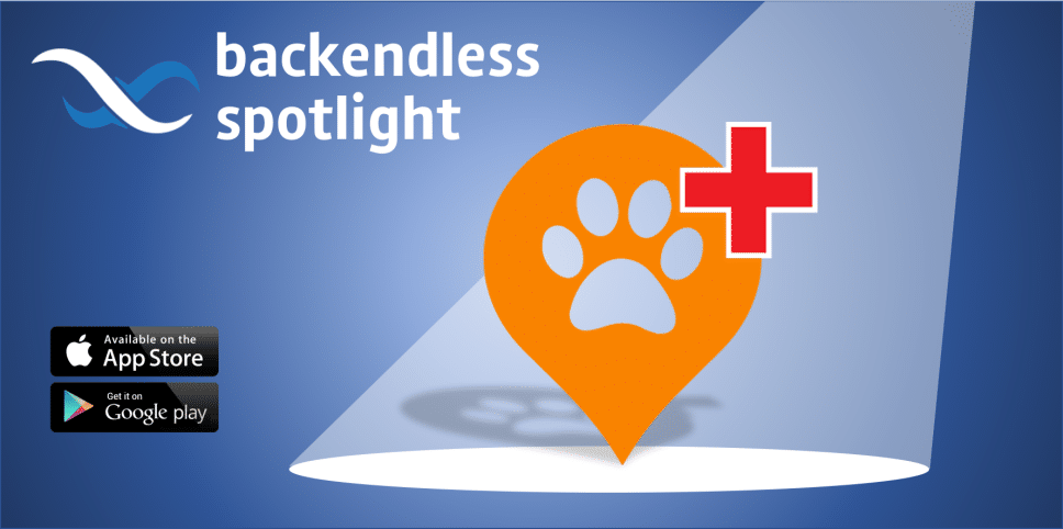 Backendless Spotlight Help a Paw
