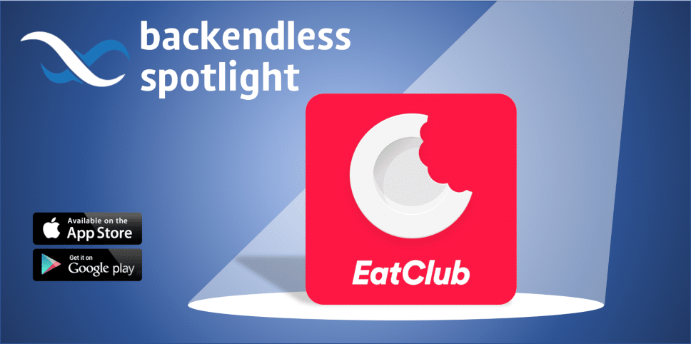 EatClub Backendless Spotlight