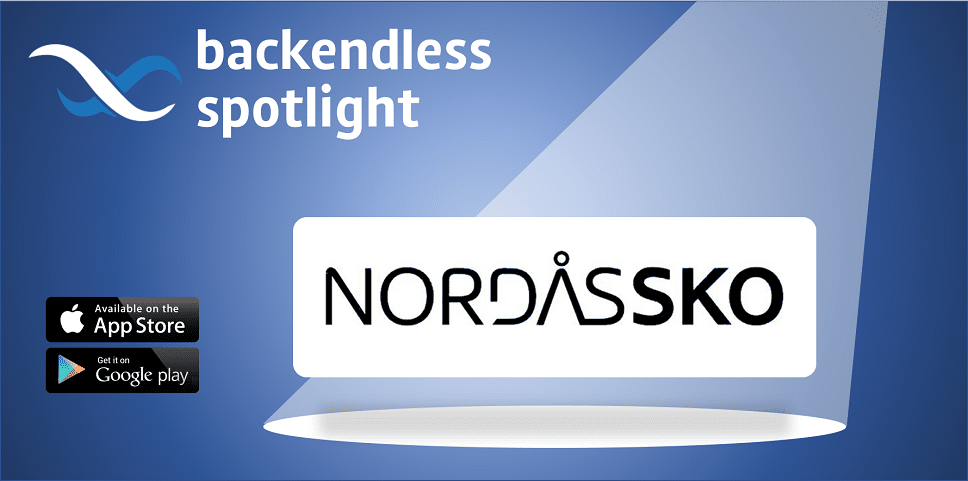 Nordas Sko Backendless Spotlight