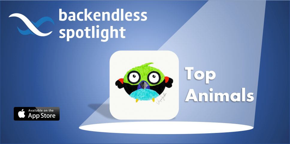 TopAnimals Backendless Spotlight