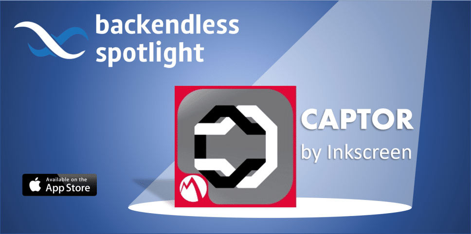 Captor by Inkscreen Backendless Spotlight