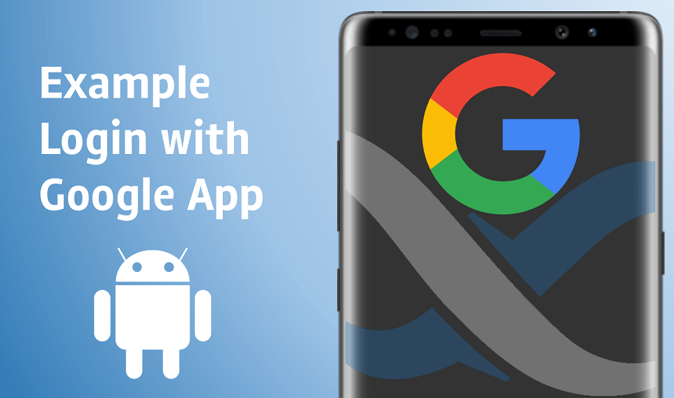 Register and Login with Google Code Generation App