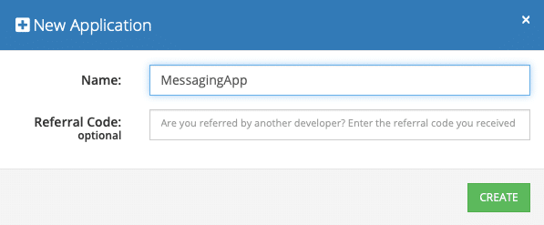 Create Messaging App with Flutter SDK