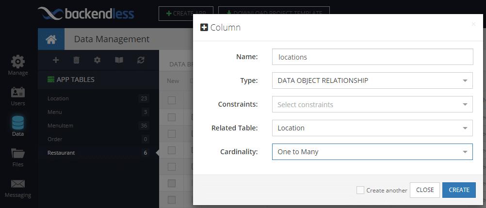 Add Locations Column