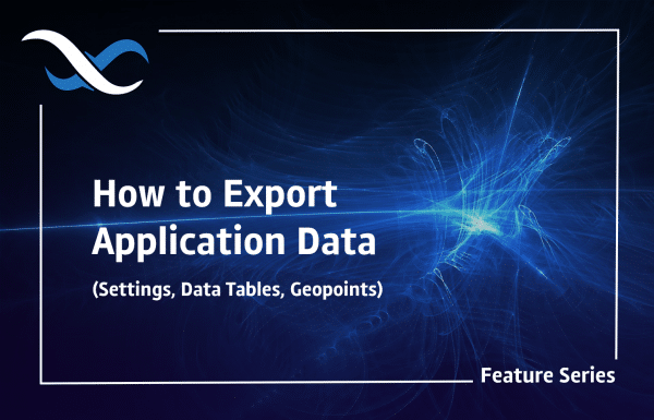 How to Export Application Data Header