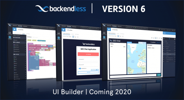 Backendless Version 6 UI Builder