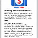 NewLines App Screenshot