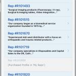 FindReps App Screenshot