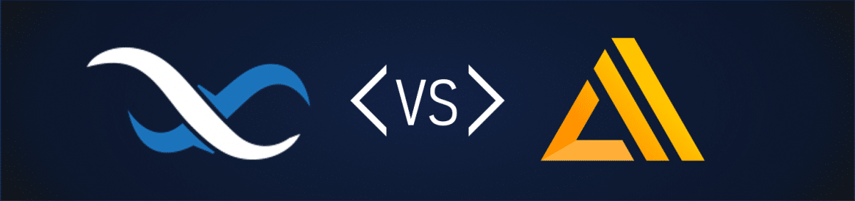 Backendless vs AWS Amplify Header