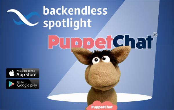Backendless Spotlight on PuppetChat
