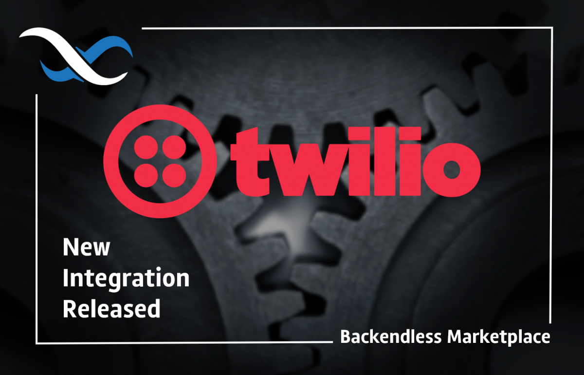 Backendless Twilio Integration Plugin Feature