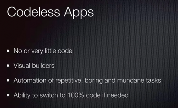 Codeless Definition