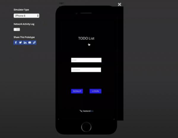 To-Do List App Login Screen