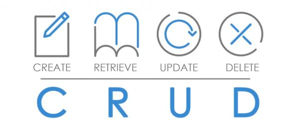 CRUD (Create, Retrieve, Update, Delete)