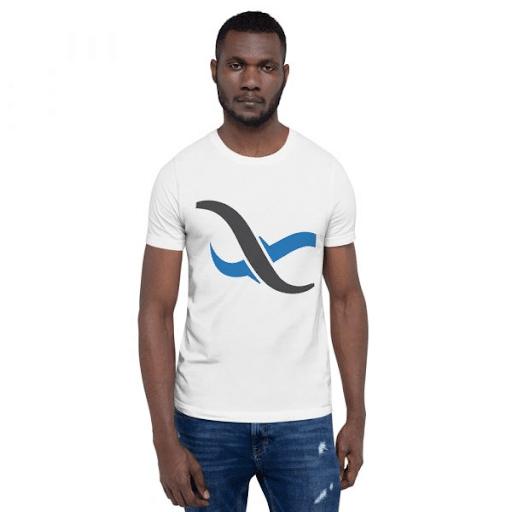 White Backendless T-Shirt