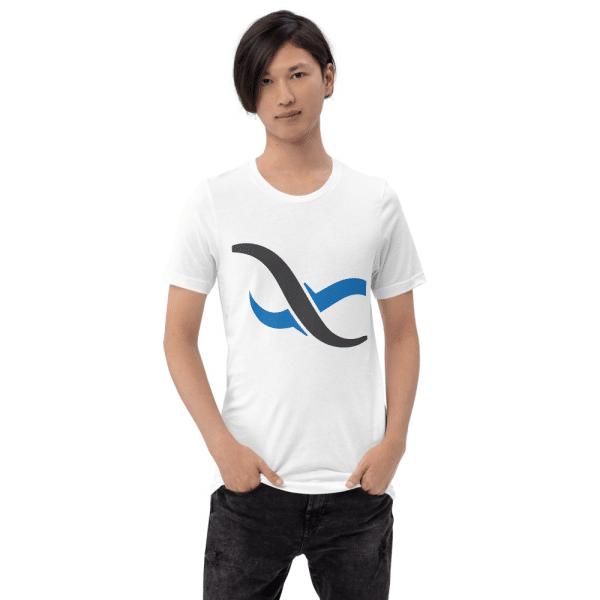 White Backendless TShirt