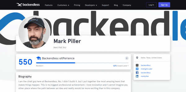 Mark Piller Profile Page