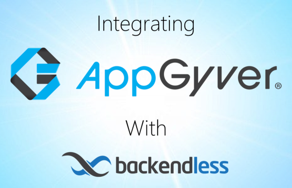 Integrate AppGyver with Backendless Feature