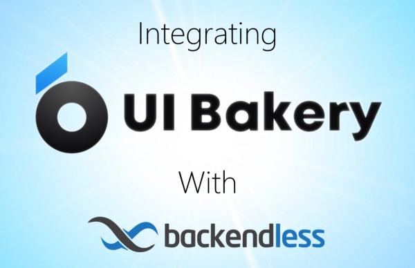Integrate Backendless with UI Bakery Feature