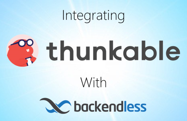 Integrate Thunkable With Backendless Feature