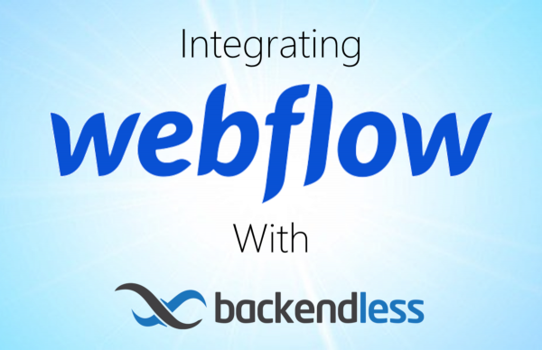 Integrate Webflow with Backendless Feature