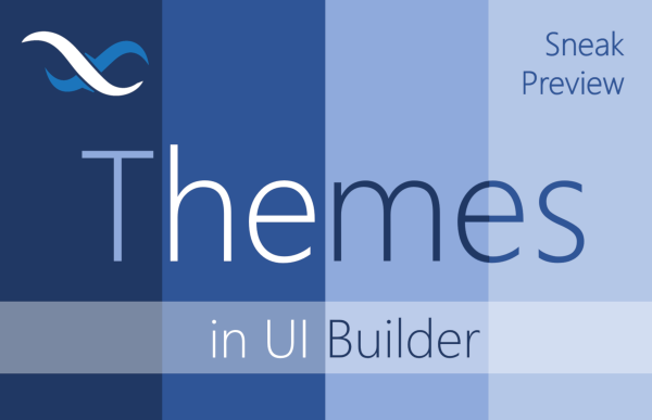 UI Builder Themes Sneak Preview Feature