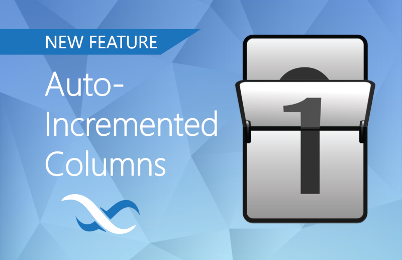 Auto-incremented Columns Feature