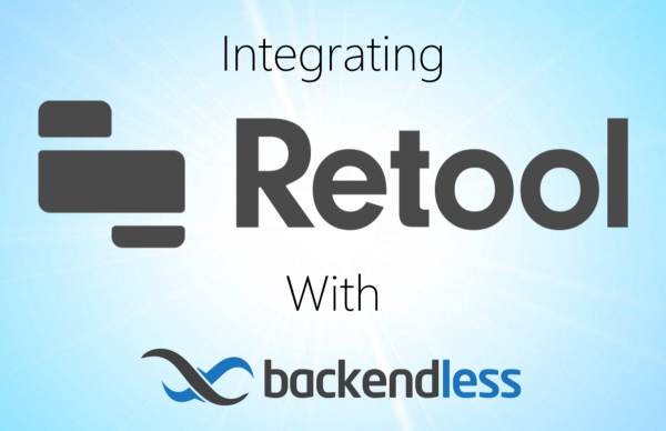 Integrate Backendless With Retool Feature