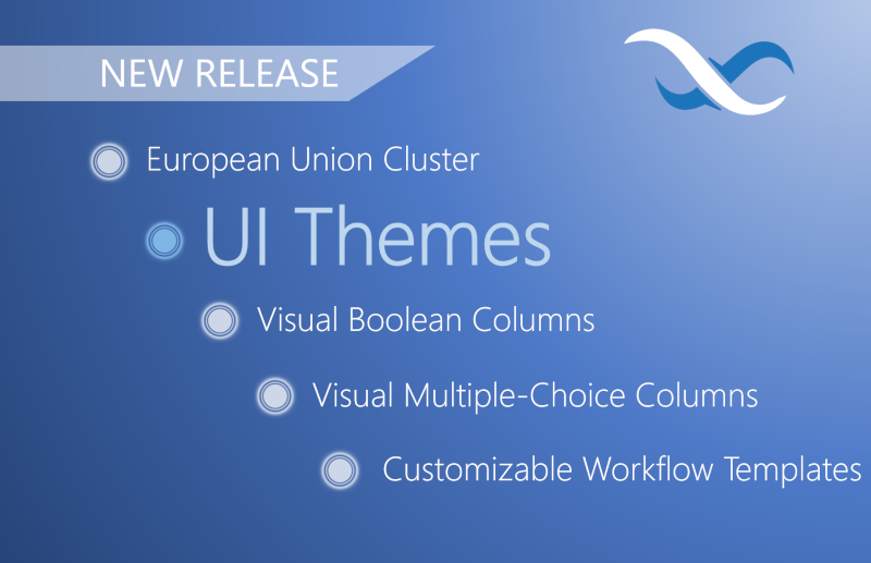 UI Themes EU Cluster Release Feature