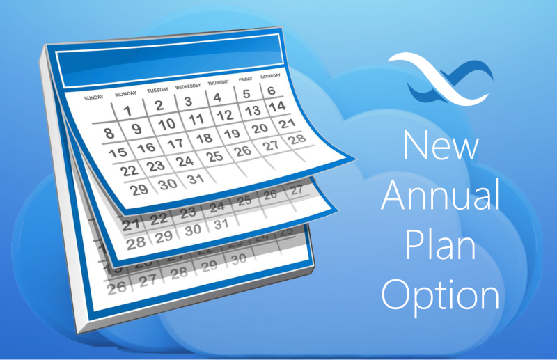 Annual Cloud Pricing Plan Feature