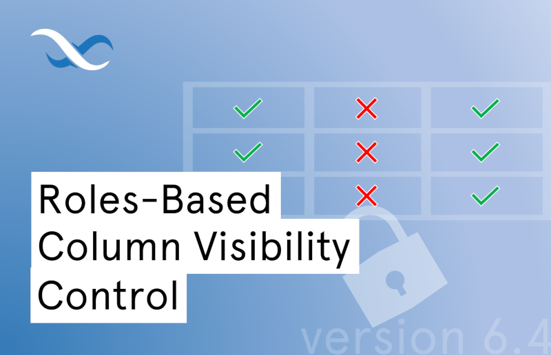 Roles-based column visibility permissions for Backendless Database Feature