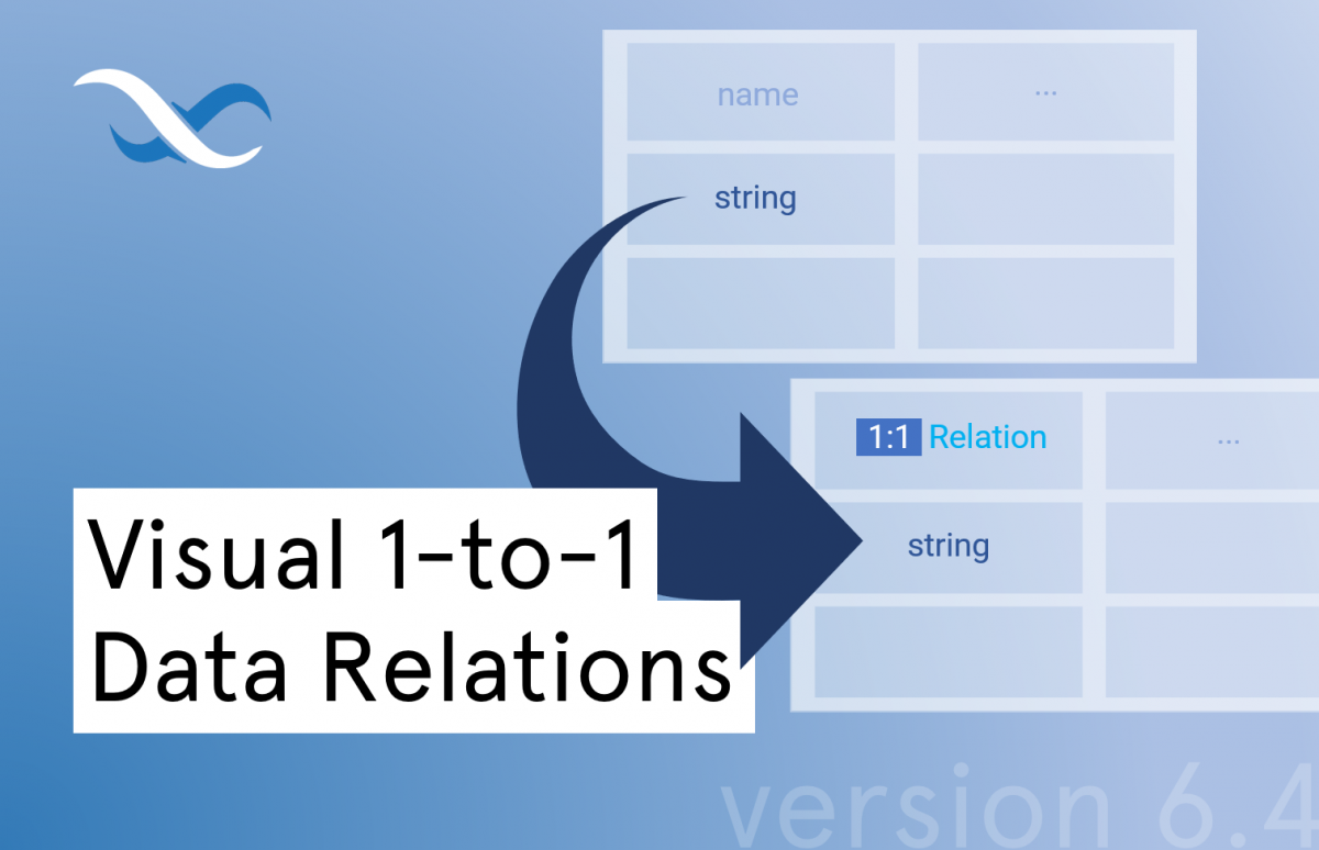 Visual 1-to-1 data relations in Backendless Database Feature