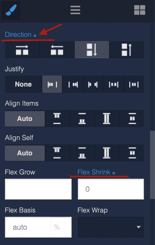 Reset block element styles in UI Builder