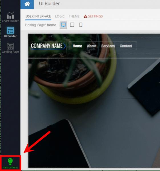 App Blueprint Instructions
