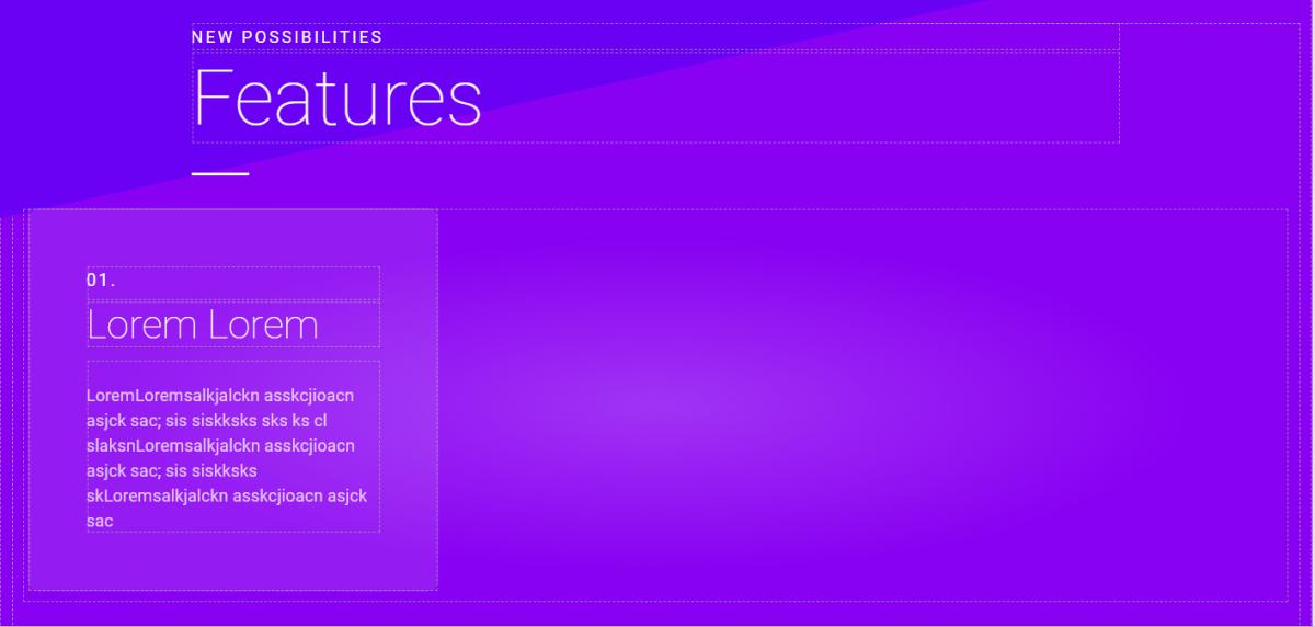 Cool App Features UI Builder